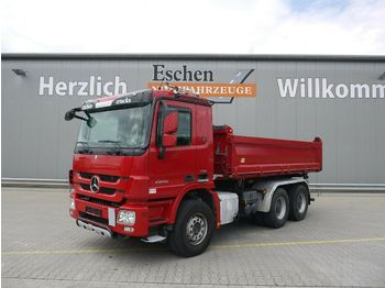 Kipper vrachtwagen Mercedes-Benz 2646, 6x4, Meiller 3-Seiten-Kipper, EUR 5