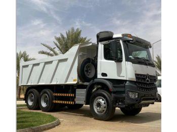 Kipper vrachtwagen Mercedes-Benz 3342 6X4  Mulden Kipper Euromix ET 18