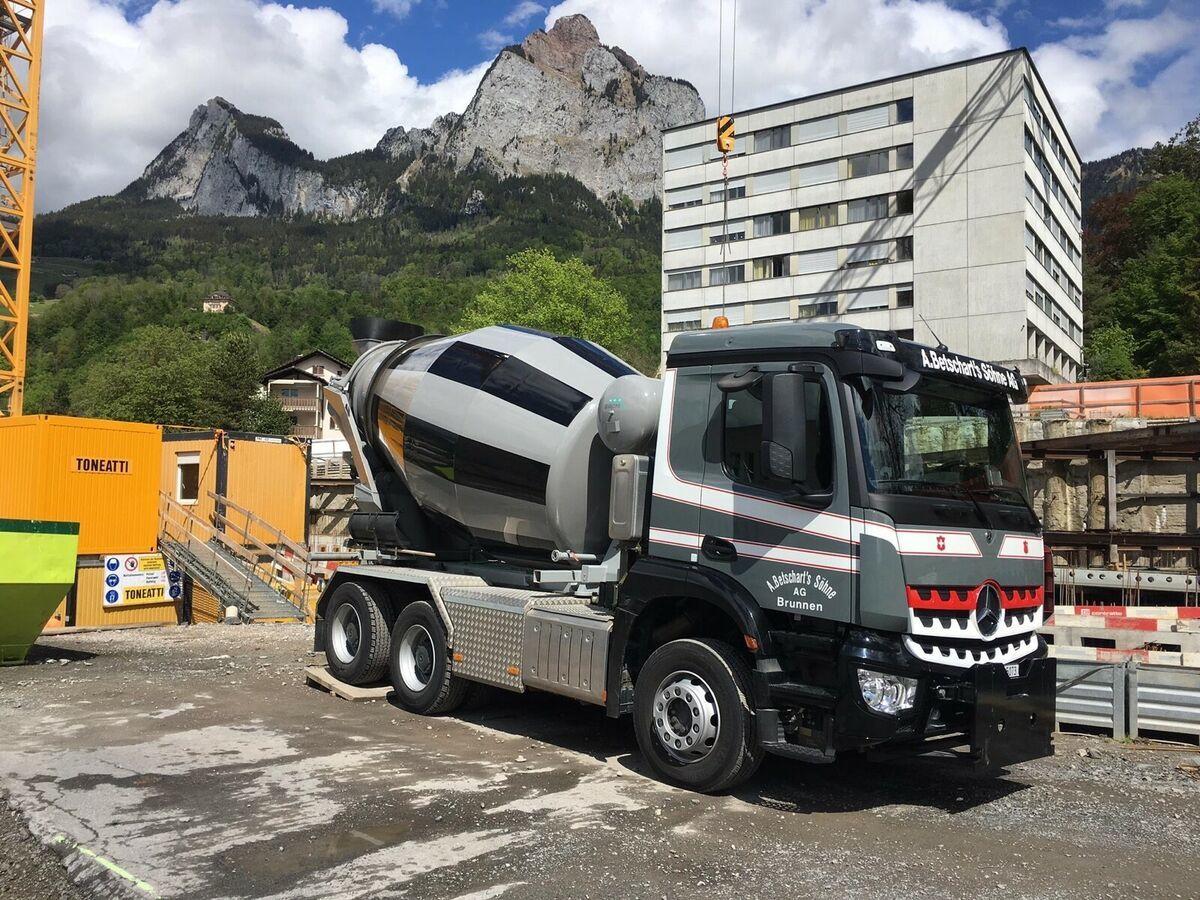 kipper vrachtwagen Mercedes-Benz 3342 6x4 / EuromixMTP  WECHSELSYSTEM KIPPER+MISC
