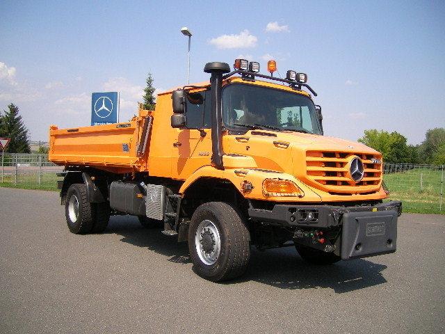 Mercedes Benz Zetros 1833a Kipper Vrachtwagen Truck1 Id 1207292