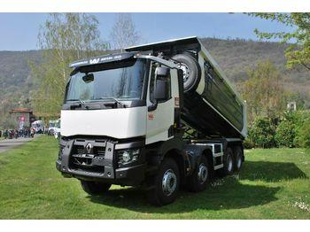 Kipper vrachtwagen Renault C480 8x4 Euro6d / Mulden Kipper EuromixMTP