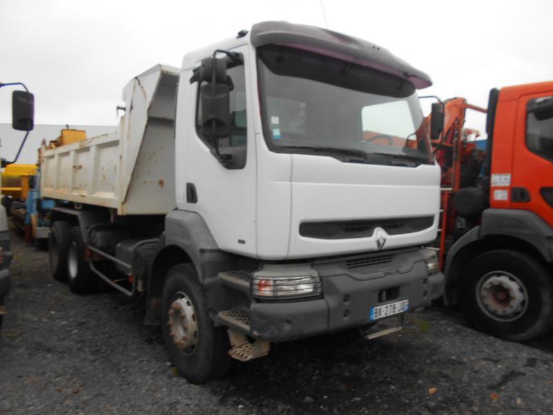 kipper vrachtwagen Renault Kerax
