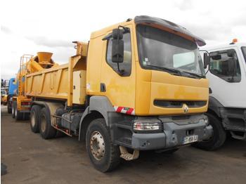 Kipper vrachtwagen Renault Kerax 320