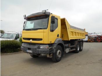 Kipper vrachtwagen Renault Kerax 320 DCI