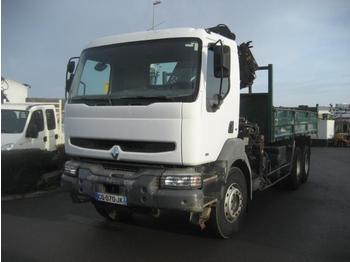 Kipper vrachtwagen Renault Kerax 340