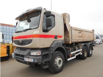 Kipper vrachtwagen Renault Kerax 380 DXI