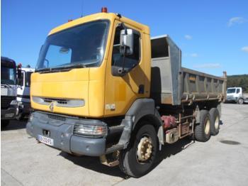 Kipper vrachtwagen Renault Kerax 385