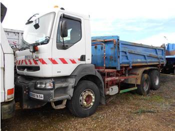 Kipper vrachtwagen Renault Kerax 400