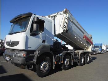 Kipper vrachtwagen Renault Kerax 430 DXI
