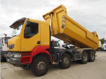 Kipper vrachtwagen Renault Kerax 450 DXi