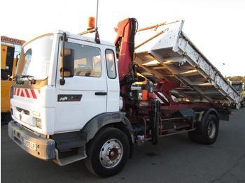 Kipper vrachtwagen Renault Midliner 150