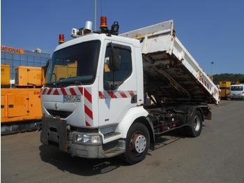 Kipper vrachtwagen Renault Midlum 180