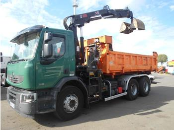 Kipper vrachtwagen Renault Premium Lander 380.26 DXI