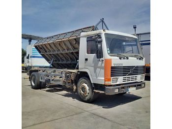 VOLVO FL7 260 left hand drive Intercooler TELMA 19 ton on springs - kipper vrachtwagen
