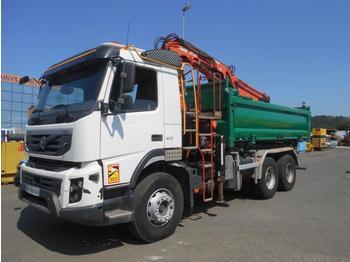 Kipper vrachtwagen Volvo FMX 410