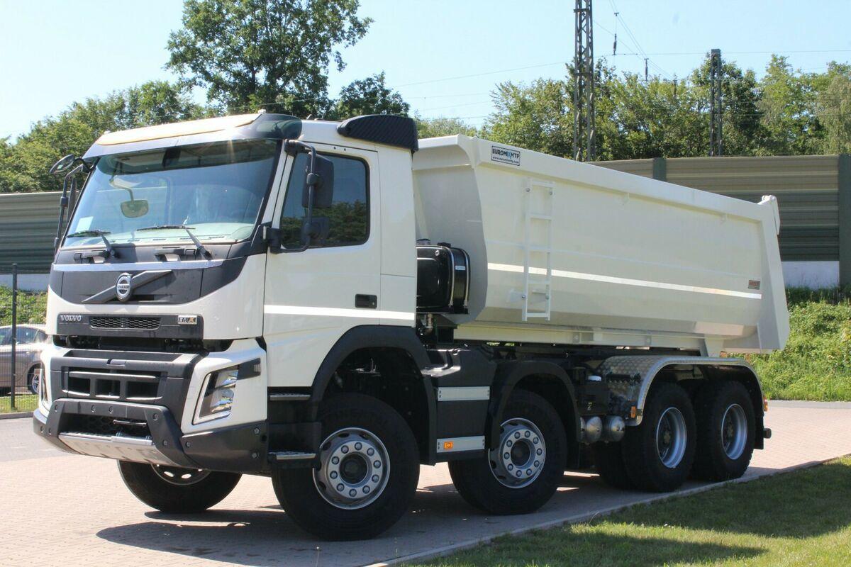 kipper vrachtwagen Volvo FMX 430 8x4 / EuromixMTP TM18 HARDOX