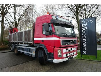 Kipper vrachtwagen Volvo FM 480 6x2 Kran - kipper