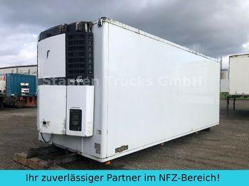 Koelwagen vrachtwagen Chereau Fleischkoffer Rohrbahnen TK-SL 100  7 m
