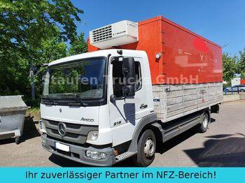 Koelwagen vrachtwagen Mercedes-Benz Atego 818  Kühl Frischd. LBW Th King V500 MAX