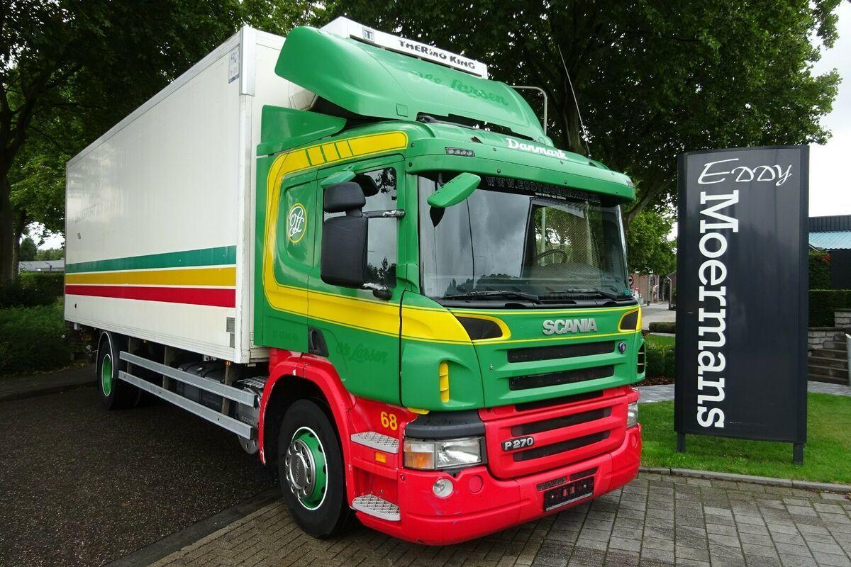 koelwagen vrachtwagen Scania P 270