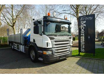 Openbakwagen vrachtwagen Scania P230 Cp 16