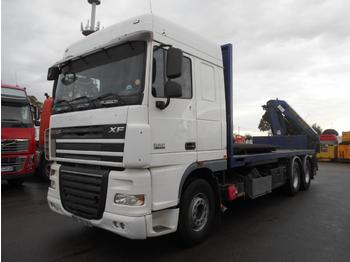 Platte vrachtwagen DAF XF105 410