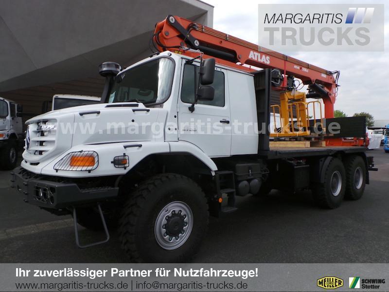 Nieuw Platte Vrachtwagen Mercedes Benz 2733 A Zetros 6x6 Pritsche