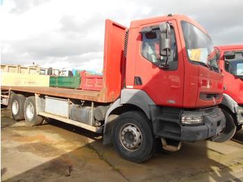 Platte vrachtwagen Renault Kerax 420 DCI