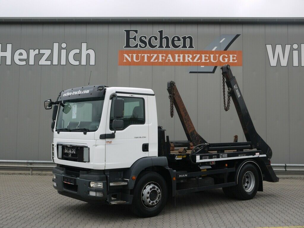 portaalarmsysteem vrachtwagen MAN TGM 18.290 BB*HIAB Multilift SLT142 Tele*Klima