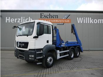 Portaalarmsysteem vrachtwagen MAN TGS 26.320 6x4BB*erst 145TKM*Hyvalift NG20*Klima