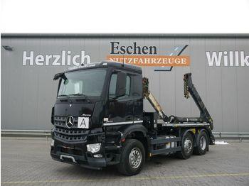 Portaalarmsysteem vrachtwagen Mercedes-Benz Arocs 2540 L 6x2, 1. Hand, Meiller AK16t, Bl/Lu