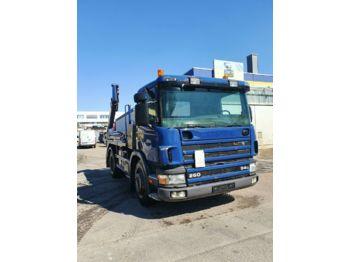 Portaalarmsysteem vrachtwagen Scania G 94 260  MEILLER TELESKOP Absetzkipper