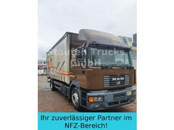 Schuifzeilen vrachtwagen MAN 19 314 FBL F 2000 Pritsche / Plane DPF Klima LBW