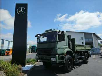 Schuifzeilen vrachtwagen Mercedes-Benz Axor 1829 A 4x4 Single Bereifung Expedition