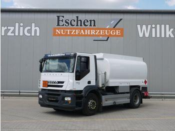 Tank vrachtwagen Iveco AD 190S42 Stralis Lindner & Fischer, Oben/Unten