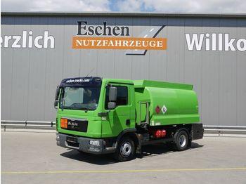 Tank vrachtwagen MAN TGL 12.220 BL, Lindner & Fischer A3, Oben
