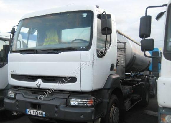 tank vrachtwagen Renault Kerax 270