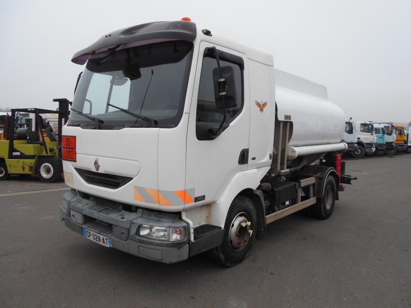 tank vrachtwagen Renault Midlum 180