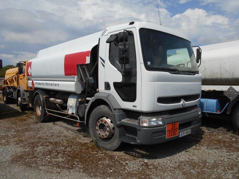 tank vrachtwagen Renault Premium 300