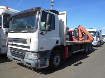 Vrachtwagen met open laadbak DAF CF75 310