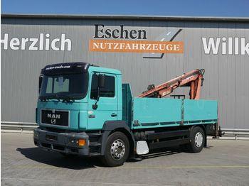 Vrachtwagen met open laadbak MAN 19.403 Silent 4x2 Atlas 125.1*Manuell*AHK*1.Hand