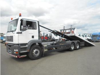 Vrachtwagen met open laadbak MAN TGA 28.350