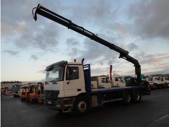 Vrachtwagen met open laadbak Mercedes Actros 2640