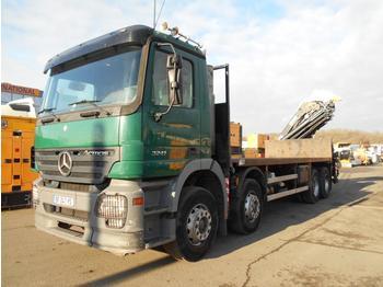Vrachtwagen met open laadbak Mercedes Actros 3241