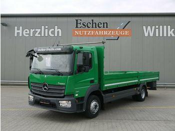 Vrachtwagen met open laadbak Mercedes-Benz 1221 Atego Pritsche*3 Sitze*AHK*EUR6*Automatik