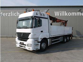 Vrachtwagen met open laadbak Mercedes-Benz Axor 2543 L 6x2 Atlas 170.2, Klima, Schalter