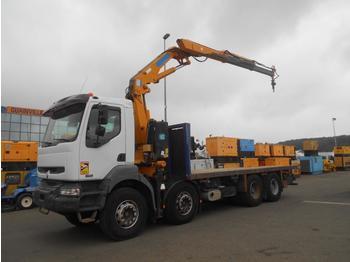 Vrachtwagen met open laadbak Renault Kerax 420 DCI