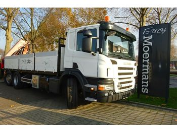 Vrachtwagen met open laadbak Scania P380 6x2*4