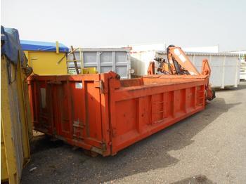 Haakarm container Forez benne ampliroll + grue