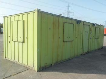 32' x 10' Double office, Kitchen - wooncontainer